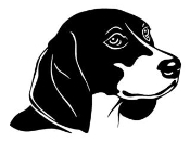 Beagle Head Decal Sticker