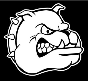 Bulldog Head v2 Decal Sticker