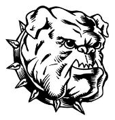 Bulldog Head v3 Decal Sticker