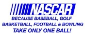Nascar Takes Balls 3 Decal Sticker