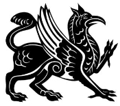 Griffin Decal Sticker