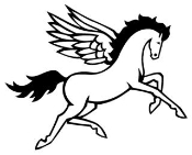Pegasus v3 Decal Sticker
