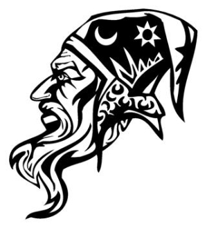 Wizard v1 Decal Sticker