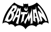 Batman v9 Decal Sticker
