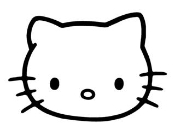 Hello Kitty 11 Decal Sticker