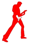 Guitarist v7 Decal Sticker