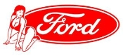 Ford Girl v3 Decal Sticker