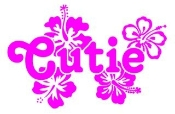 Cutie Decal Sticker