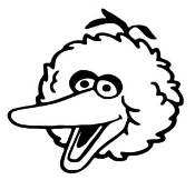 Big Bird Decal Sticker