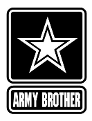 Army Brother Decal Sticker