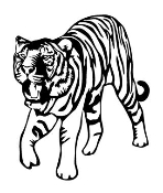 Tiger v7 Decal Sticker