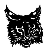 Wildcat Head Decal Sticker