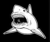 Shark v9 Decal Sticker