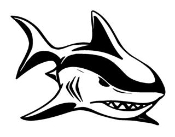 Shark v10 Decal Sticker