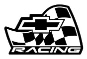 Chevy Racing v2 Decal Sticker