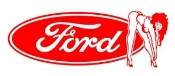 Ford Girl v5 Decal Sticker