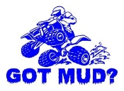 Got Mud ATV Decal Sticker