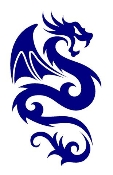 Dragon v34 Decal Sticker
