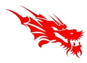 Dragon Head v4 Decal Sticker