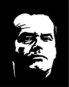 Jack Nicholson Decal Sticker