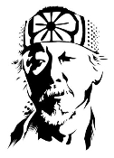 Mr Miyagi Decal Sticker
