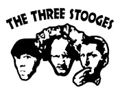 The Three Stoges Decal Sticker