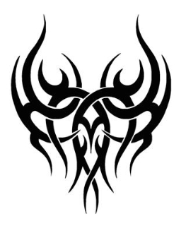 Tribal Design v21 Decal Sticker