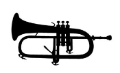 Bugle Decal Sticker