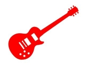Guitar v5 Decal Sticker