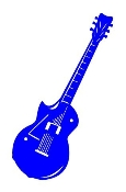Guitar v6 Decal Sticker