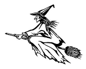 Witch v1 Decal Sticker