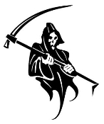 Grim Reaper v4 Decal Sticker