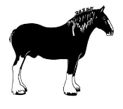 Draft Horse v3 Decal Sticker