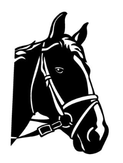 Horse Head v9 Decal Sticker