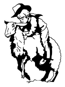 Mutton Bustin Decal Sticker