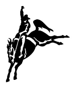 Saddle Bronc v3 Decal Sticker