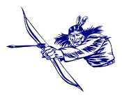 Warrior with Bow and Arrow Decal Sticker