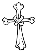 Cross v7 Decal Sticker