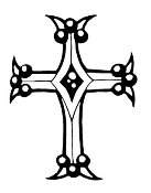 Cross v8 Decal Sticker