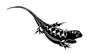 Lizard v2 Decal Sticker