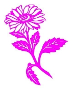 Daisy Flower Decal Sticker