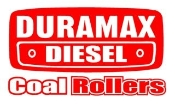 Duramax Coal Rollers v2 Decal Sticker