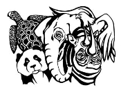 Wild Animal Group 3 Decal Sticker