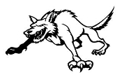 Wild Dog Decal Sticker