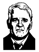 Steve Martin Decal Sticker