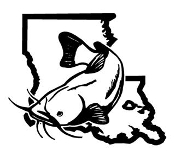 Louisiana Catfish v2 Decal Sticker
