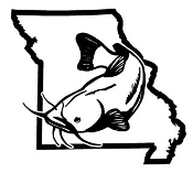 Missouri Catfish v2 Decal Sticker