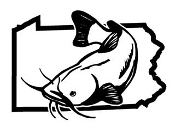 Pennsylvania Catfish v2 Decal Sticker