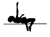 High Jump Silhouette Decal Sticker