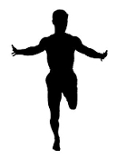 Runner Silhouette v2 Decal Sticker